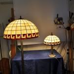 Tiffany asztali és álló lámpák