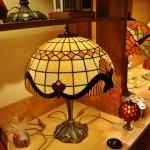 Asztali Tiffany lámpa
