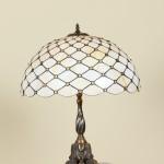 Gyöngyös hálós asztali lámpa
