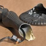 Törött spiáter Tiffany lámpatalap