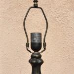 Spiáter Tiffany lámpatalp